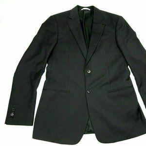 Giorgio Armani Collezioni Black Wool Sport Coat 38